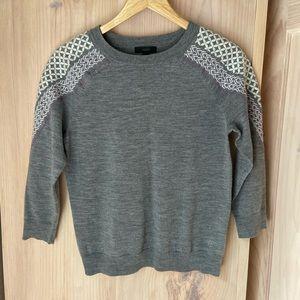 J Crew Marino sweater